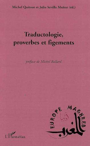 Couverture Traductologie, proverbes et figements