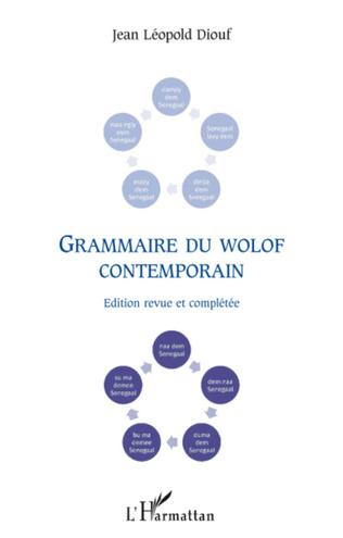 Couverture Grammaire du wolof contemporain