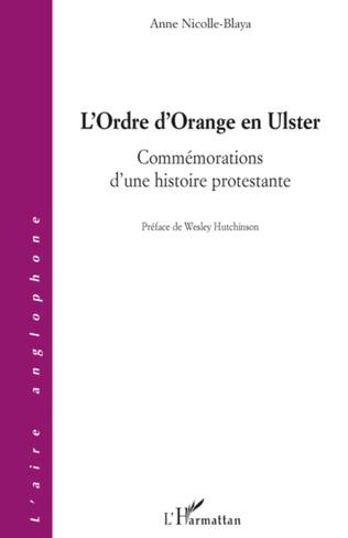 Couverture L'Ordre d'Orange en Ulster