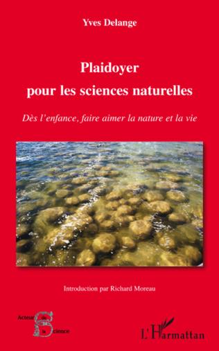 Couverture Plaidoyer pour les sciences naturelles