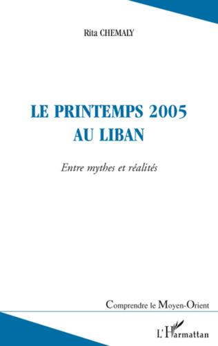 Couverture Le printemps 2005 au Liban