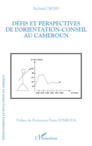 Couverture Défis et perspectives de l'orientation-conseil au Cameroun