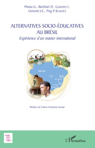 Couverture Alternatives socio-éducatives au Brésil