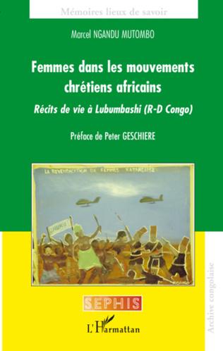 Couverture Femmes dans les mouvements chrétiens africains