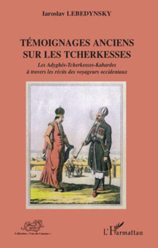 Couverture Témoignages anciens sur les Tcherkesses