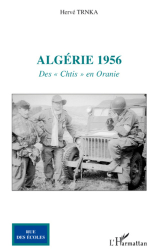 Couverture Algérie 1956