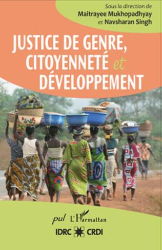 Couverture Justice de genre, citoyenneté et développement