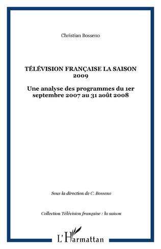 Couverture Télévision française La saison 2009