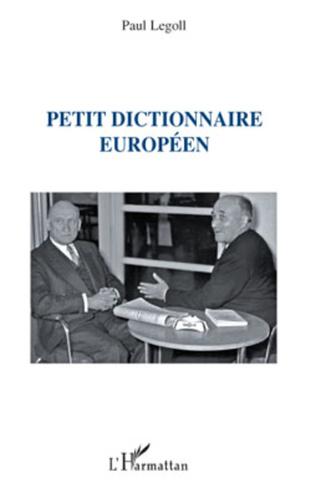 Couverture Petit dictionnaire européen