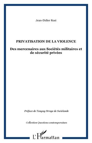 Couverture Privatisation de la violence