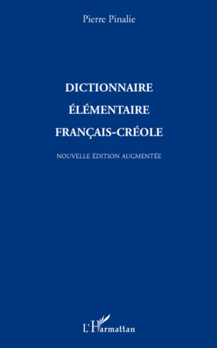 Couverture Dictionnaire élémentaire français-créole