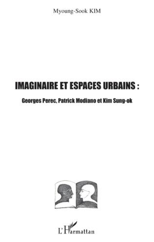 Couverture Imaginaire et espaces urbains