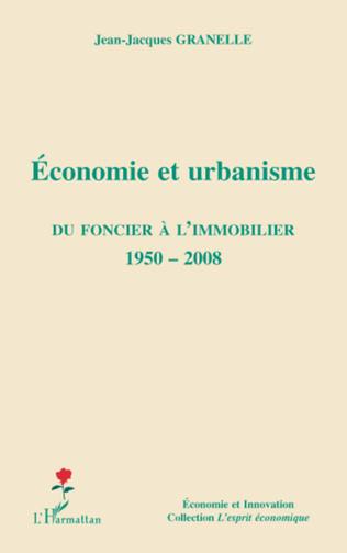 Couverture Economie et urbanisme