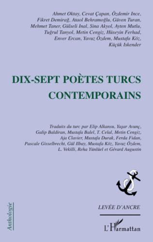Couverture Dix-sept poètes turcs contemporains