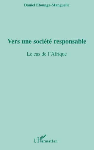 Couverture Vers une société responsable