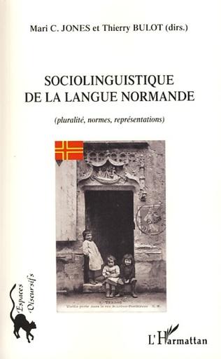 Couverture Sociolinguistique de la langue normande