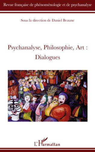 Couverture Psychanalyse, philosophie, art, dialogues