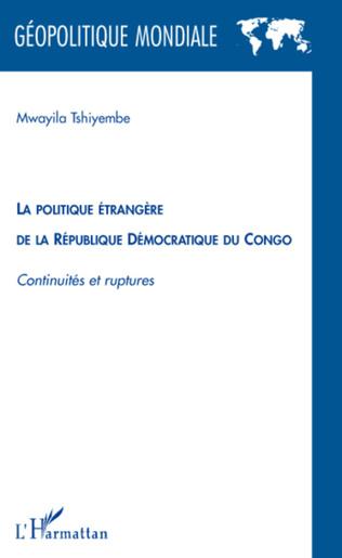 Couverture La politique étrangère de la République Démocratique du Congo