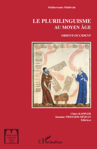 Couverture Le plurilinguisme au Moyen Âge