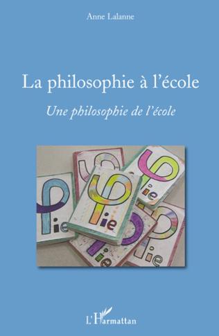 Couverture La philosophie à l'école