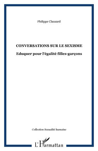 Couverture Conversations sur le sexisme
