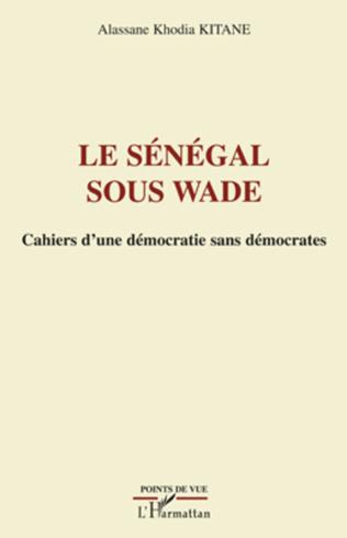 Couverture Le Sénégal sous Wade