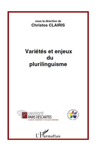 Couverture Variétés et enjeux du plurilinguisme