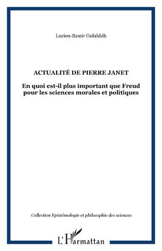 Couverture Actualité de Pierre Janet