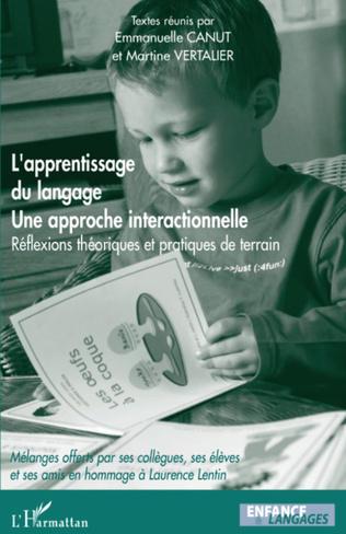 Couverture L'apprentissage du langage