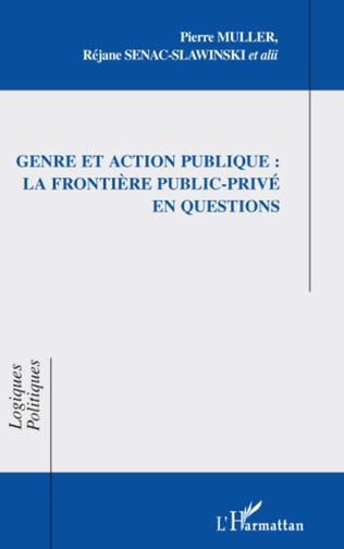 Couverture Genre et action publique : la frontière public-privé en questions