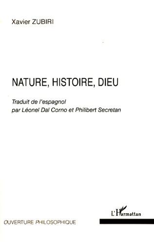 Couverture Nature, Histoire, Dieu