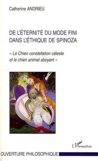 Couverture De l'éternité du mode fini dans l'éthique de Spinoza