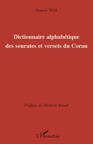 Couverture Dictionnaire alphabétique des sourates et versets du Coran
