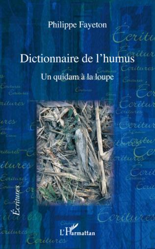 Couverture Dictionnaire de l'humus
