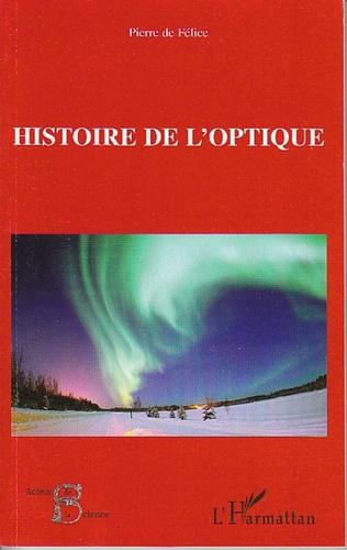 Couverture Histoire de l'optique