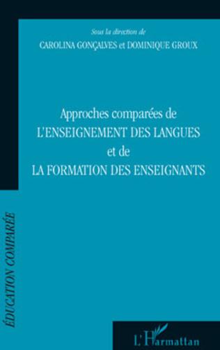Couverture Approches comparées de l'enseignement des langues et de la formation des enseignants
