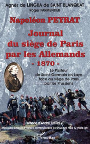 Couverture Journal du siège de Paris par les Allemands - 1870-