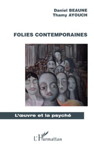 Couverture Folies contemporaines