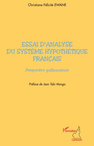 Couverture Essai d'analyse du système hypothétique français