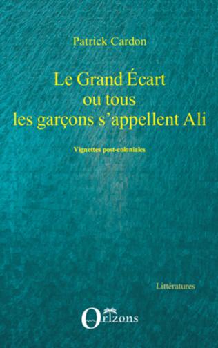Couverture GRAND ECART OU TOUS LES GARCONS S'APPELLENT ALI