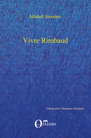 Couverture VIVRE RIMBAUD