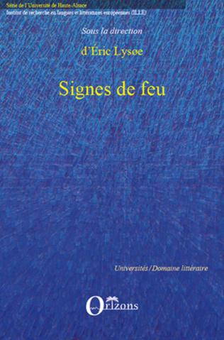 Couverture SIGNES DE FEU
