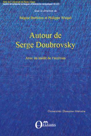 Couverture Autour de Serge Doubrovsky