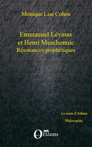 Couverture Emmanuel Lévinas et Henri Meschonnic
