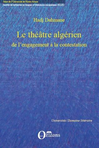 Couverture Le théâtre algérien