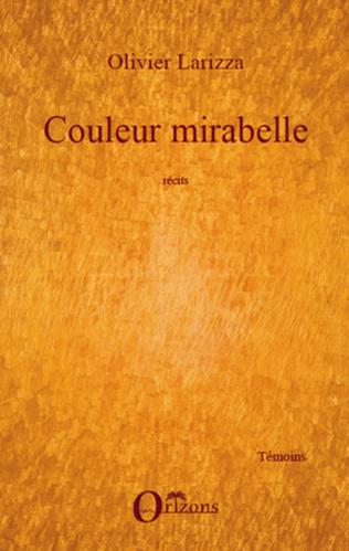 Couverture COULEUR MIRABELLE RECITS