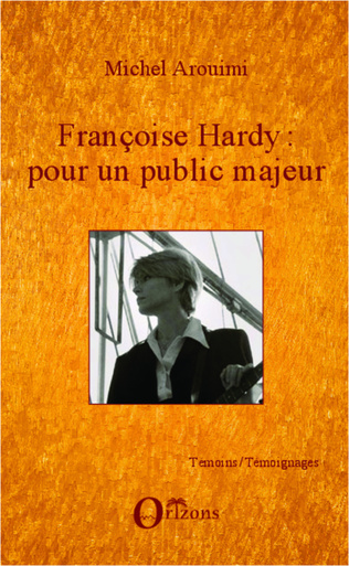 Couverture Françoise Hardy : pour un public majeur