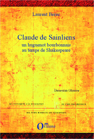Couverture Claude de Sainliens