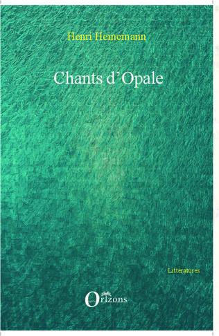 Couverture Chants d'Opale