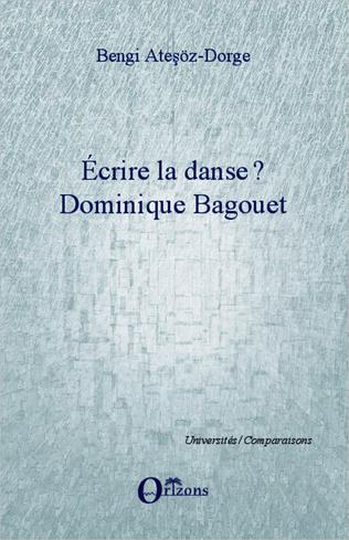 Couverture Ecrire la danse ?
